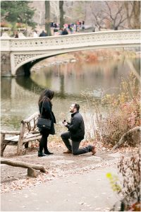 Central Surprise Proposal, Getting engaged in New York City, Proposal Photos, Rockefeller Center Proposal Photograpger, Bow Bridge Engagement Session, Bow Bridge Proposal, Upper East Side Photographer, Upper West Side Wedding Photographer, Surprise Photos of Getting Engaged, Long Island City Photographer, Gantry State Park Surprise Proposal Photographer